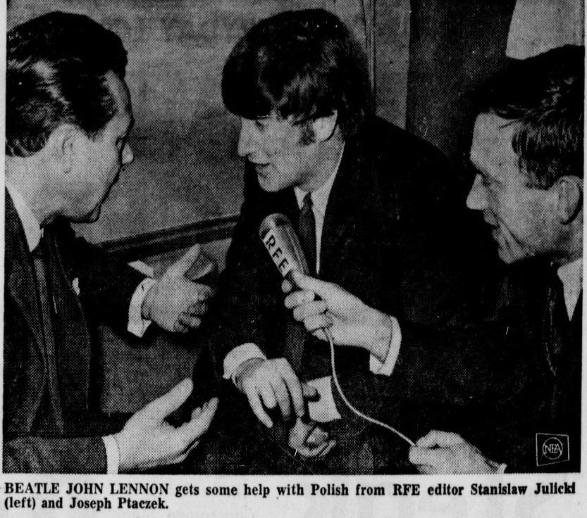 The Beatles Polska: Gdyby nas do Polski zaproszono, pojechalibyśmy tam z przyjemnoscią – Beatlesi w wywiadzie dla RWE