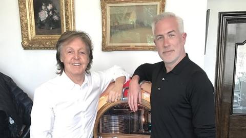 The Beatles Polska: Paul McCartney nagrywa nową płytę - wywiad dla radia BBC