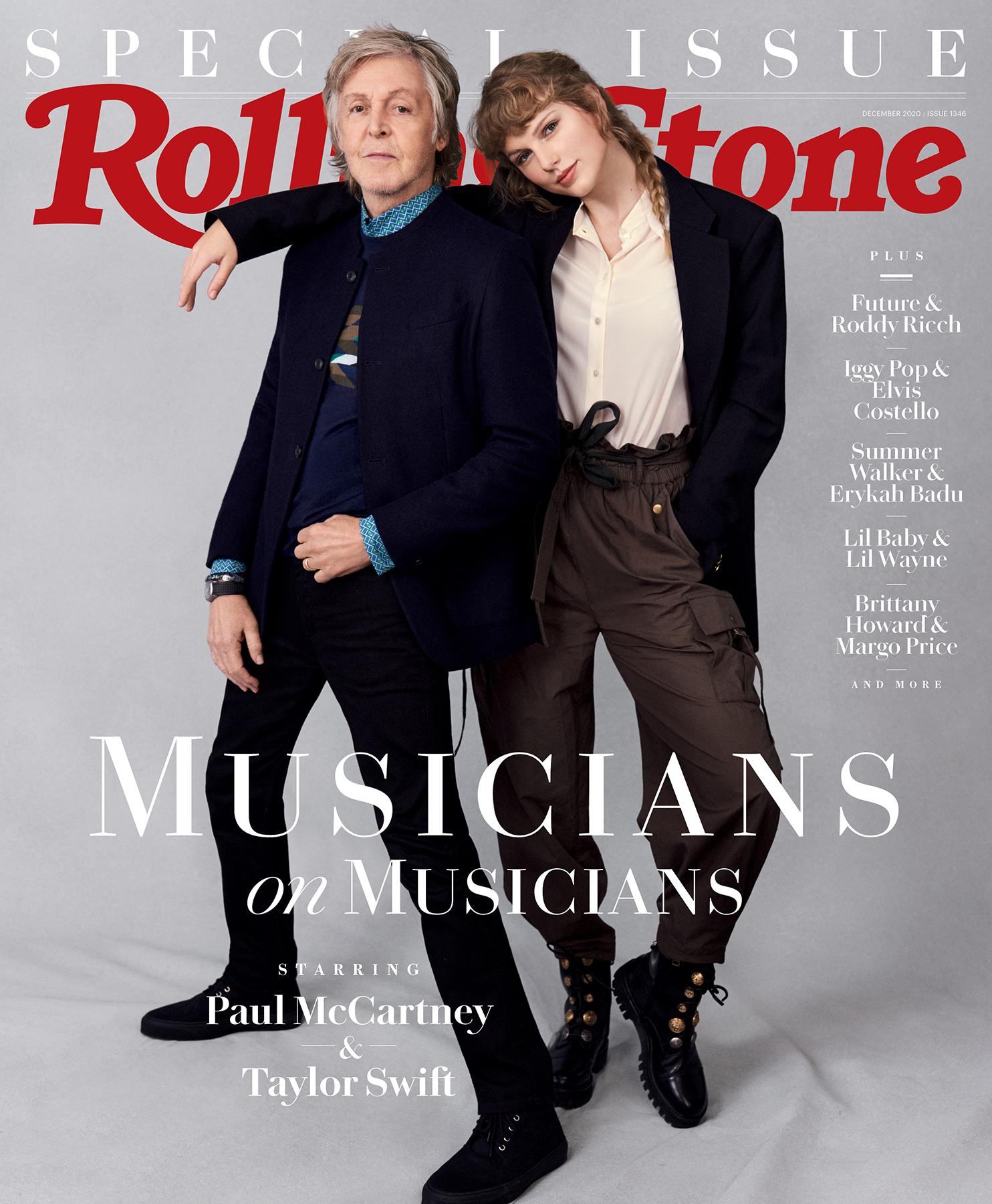 The Beatles Polska: Paul McCartney i Taylor Swift w nowej serii rozmów między artystami na łamach Rolling Stone