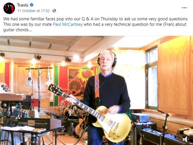 The Beatles Polska: Paul McCartney zażartował sobie z Travis