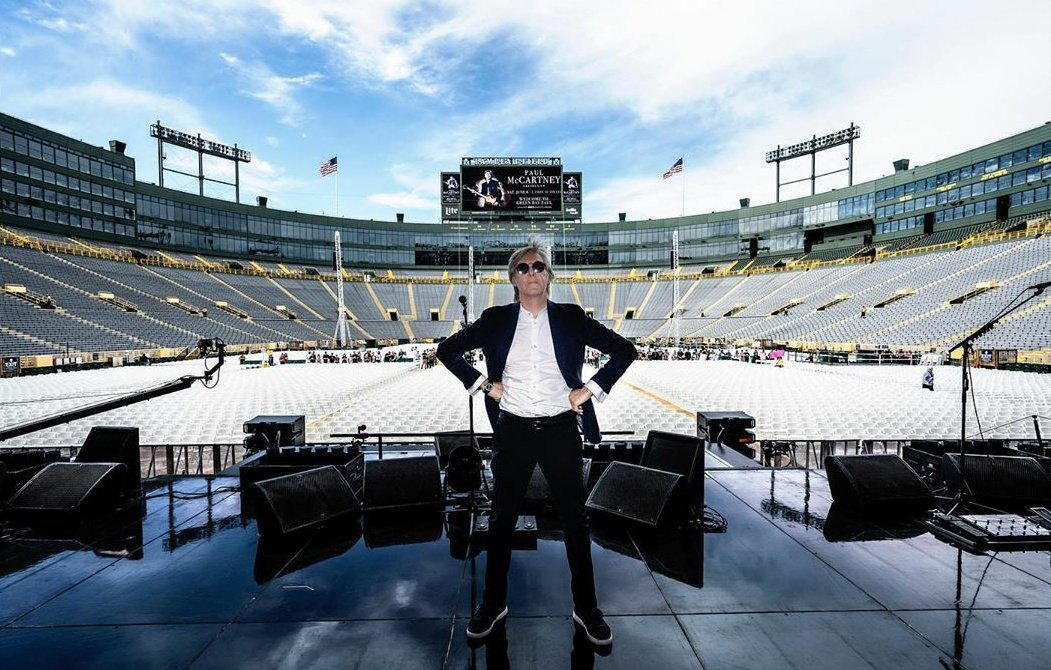 The Beatles Polska: Koncert Paula McCartneya na Lambeau Field w Green Bay