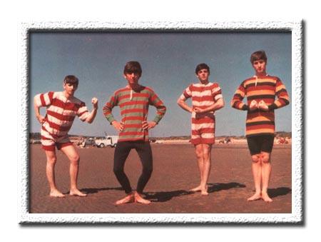 The Beatles Polska: Fotografie w strojach plażowych