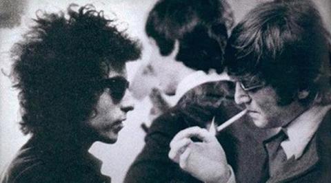 The Beatles Polska: Beatlesi spotykają Boba Dylana
