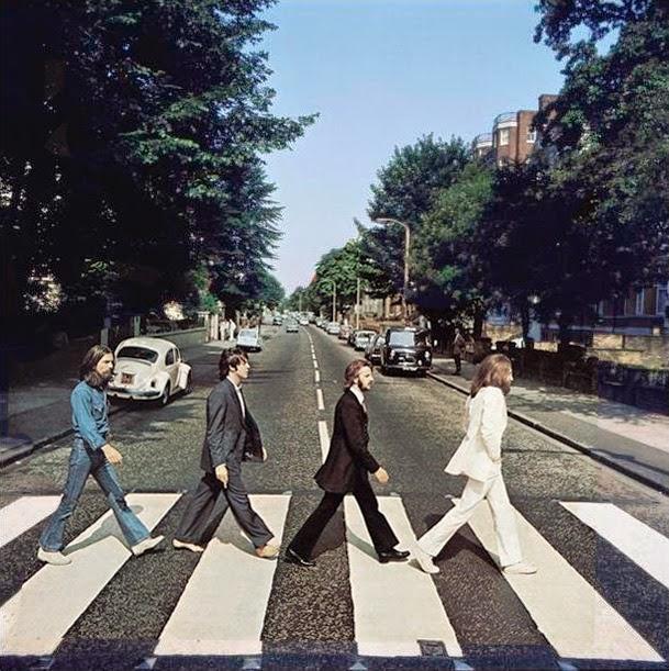 The Beatles Polska: Wykonano zdjęcie na okładkę Abbey Road
