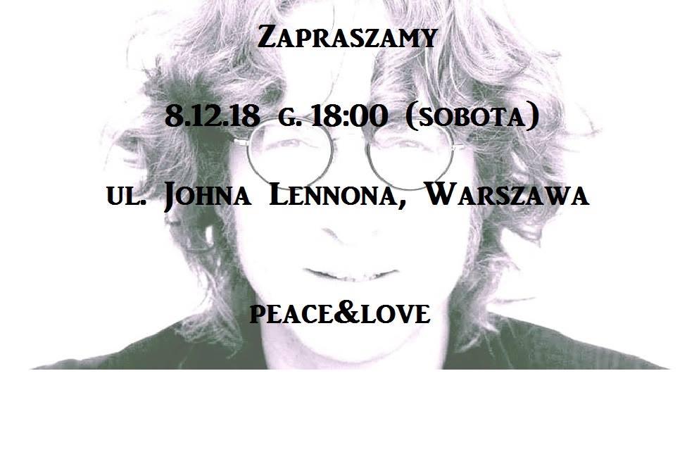 The Beatles Polska: Spotkanie fanów na ulicy Johna Lennona w Warszawie