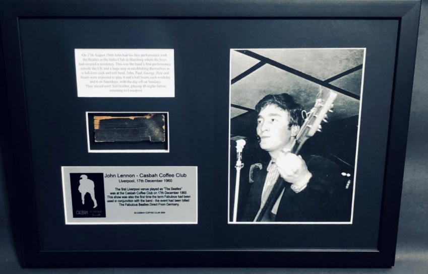 The Beatles Polska: 80 kawałków podłogi z Casbah na 80. urodziny Johna Lennona