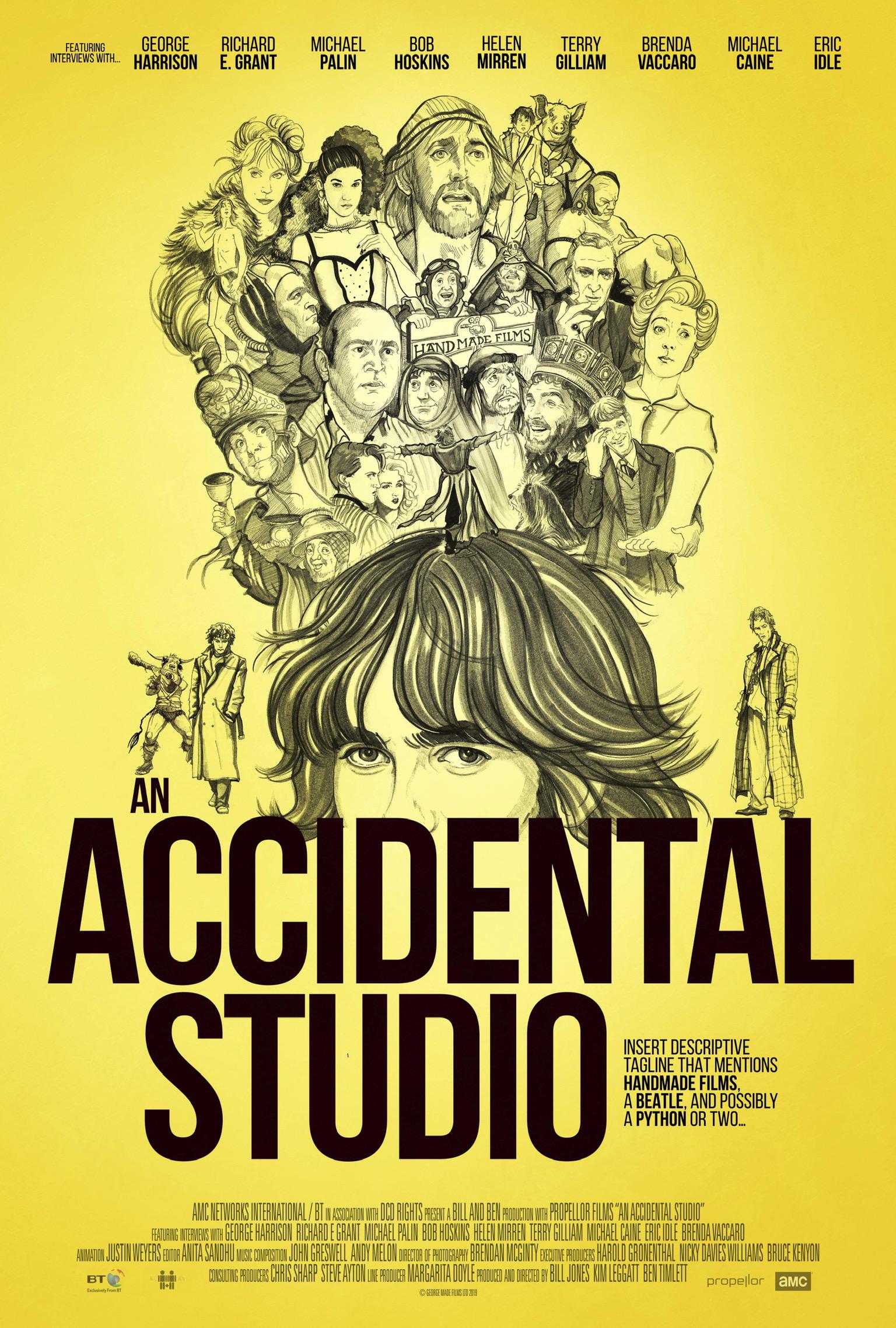 """The Beatles Polska: """"An Accidental Studio"""" - o tym jak George Harrison uratował brytyjskie kino"""