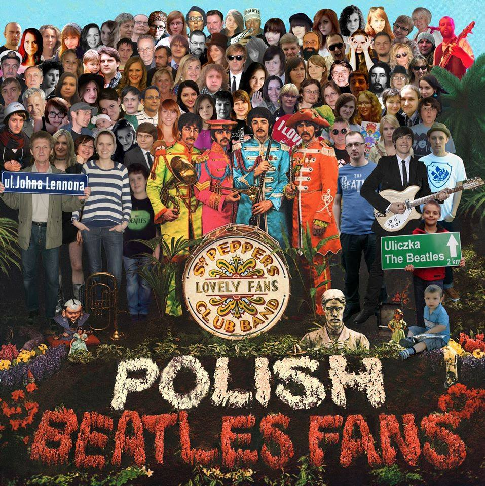 The Beatles Polska: Powstaje wspólna fotografia polskich fanów w stylu okładki Sgt. Pepper