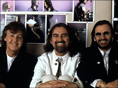 The Beatles Polska: George Harrison: Ostatnie spotkanie z kolegami z The Beatles
