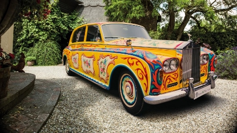 The Beatles Polska: Rolss-Royce Johna Lennona powróci do Londynu